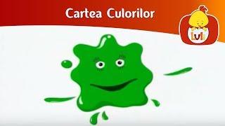 getlinkyoutube.com-Cartea Culorilor - Verde, roșu, albastru, pentru copii