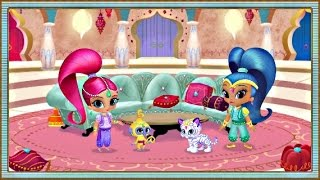 getlinkyoutube.com-Shimmer and Shine: Genie Palace Divine - Nick Jr Game For Kids