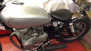getlinkyoutube.com-Yamaha XS 250 bobber Silver