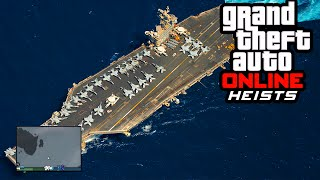 getlinkyoutube.com-GTA 5 Heists - Aircraft Carrier, New Leaked Vehicles, & Heist Secret Unlocks (Heist DLC Update)