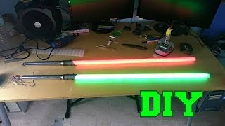 getlinkyoutube.com-DIY Lightsaber with LED