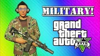 getlinkyoutube.com-GTA 5 Online Military Edition: Operation Smoked Bacon (GTA 5 Online Funny Moments & Skits)