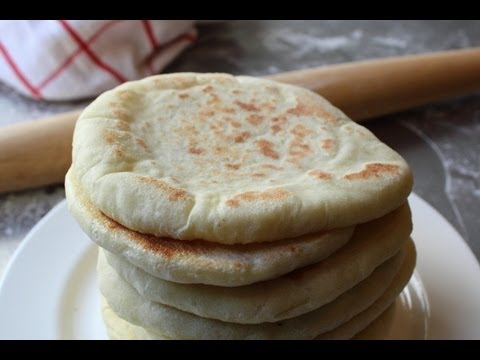 Pita Bread – How to Make Pita Bread at Home – Grilled Flatbread