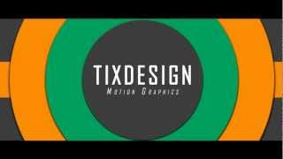 - Free intro 2D template #1 : After Effect project.