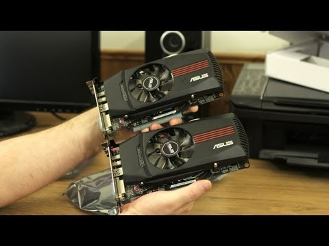Dual ASUS HD 7770 DirectCU TOP Edition Video Card Unboxing!