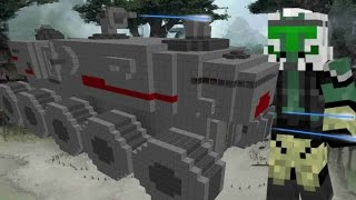 "getlinkyoutube.com-Star Wars ""Turbo Tank"" in Minecraft + Skins"