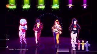 getlinkyoutube.com-Just Dance 2016 - Circus - Britney Spears - 6 Player gameplay