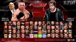 getlinkyoutube.com-WWE 2K16 Gameplay Notion - First Blood Match - PC/PS4/XB1 (Custom)