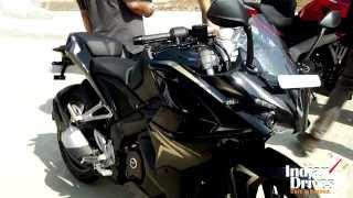 getlinkyoutube.com-Kawasaki Pulsar 200 SS In Golden-Black Spotted In Indonesia