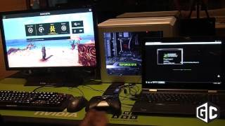 CES 2016: Nvidia GameStream Co-Op in action