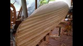 getlinkyoutube.com-Ranger Prospector Wood Strip canoe Build Part1