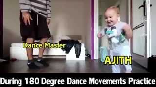 Ajith 180 degree Vedalam dance Practice Funny Troll