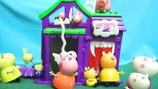 getlinkyoutube.com-Peppa Pig свинка Пеппа и ее семья. Пеппа новая серия. Мультфильм для детей. Комната страха