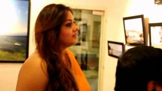 Namitha  Launches  Art Gallery