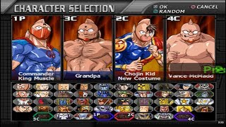 Galactic Wrestling: Featuring Ultimate Muscle Opening and All Characters [PS2]