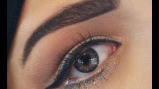 getlinkyoutube.com-simple morning makeup .. مكياج الصبح مع حركة بسيطة عالرموش