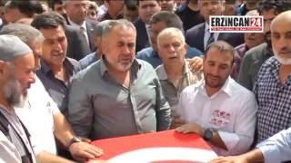 Erzincanlı Şehit Polis, Dualarla Son Yolculuğuna Uğurlandı
