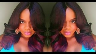 getlinkyoutube.com-ISIS Red Carpet Lace Wig RCP297 Feather Flip 3!