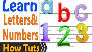 getlinkyoutube.com-Learn to read English 1 hour - Letters and numbers