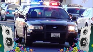 getlinkyoutube.com-Police Car Song - Kids Car and Truck Music Video
