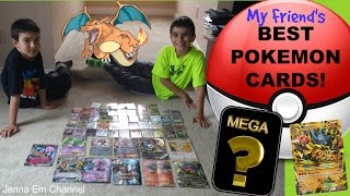getlinkyoutube.com-My Friend's Best Pokemon Card Collection! Mega Venusaur EX, M Aggron EX full art, M Lucario EX SR