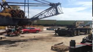 Lima 990TC Crane Deck Removal