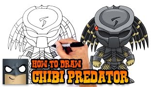 getlinkyoutube.com-How to Draw Predator (Chibi)- Drawing Lesson for Kids