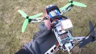 getlinkyoutube.com-Angry Dronie - Diatone FPV 250 quadcopter + APM + phone