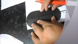 getlinkyoutube.com-aprenda a fazer molde de sapatinho de BB,  molde façil!!
