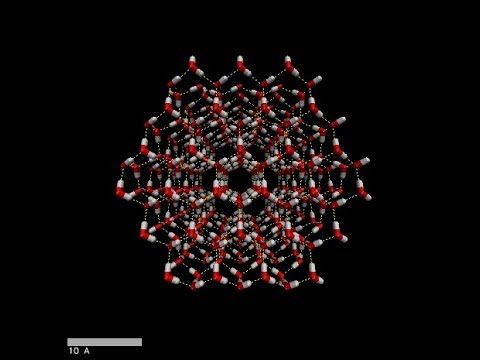 Molecular dynamics simulation of ice crystal melting