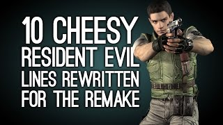 getlinkyoutube.com-10 Cheesy Resident Evil Lines They Rewrote for the Remake