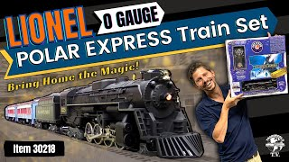 getlinkyoutube.com-Lionel Polar Express Train Set