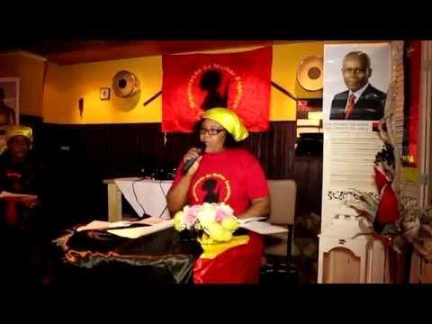 Organização da Mulher Angolana  Holanda 2014 Parte 1/2