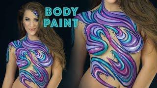 getlinkyoutube.com-Body Painting w/ Molly Balloons | Elsa Rhae