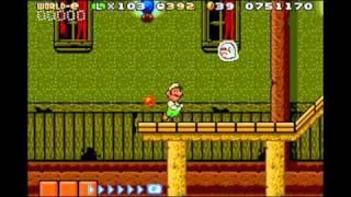 getlinkyoutube.com-Playthrough - Super Mario Advance 4: Super Mario Bros. 3 (e-Reader) - World-e Levels (3) (Part 27)
