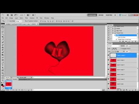 Quick Animation Effect in Photoshop CS5: Gavin Hoey