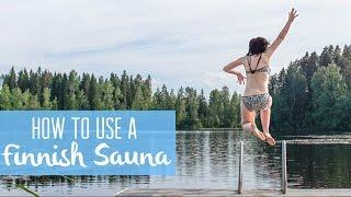 getlinkyoutube.com-Our first traditional Finnish sauna experience