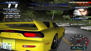 getlinkyoutube.com-Demul V0.7a 08 16 2016  Initial D v3 with card reader emulation