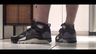Nike Air Trainer Huarache 1992 Original Black Grey Review LIVE! Bo Jackson www.defynewyork.com