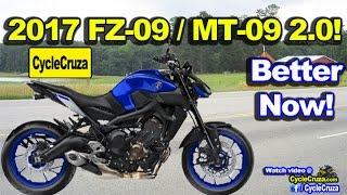 getlinkyoutube.com-2017 Yamaha FZ-09 MT-09 2.0 Unveiling! BETTER NOW! SICK!