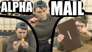 -ALPHA MAIL 12- Sharpest (and Scariest) Knife I've Ever Gotten / ANOTHER H*CKING LAPTOP