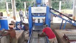 getlinkyoutube.com-Fly Ash Brick Making Machines Coimbatore