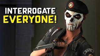 getlinkyoutube.com-INTERROGATE EVERYONE - Rainbow Six: Siege (Caveira Gameplay)