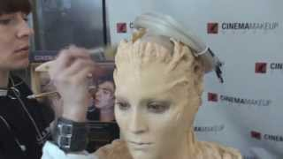 getlinkyoutube.com-Special Effects Makeup at IMATS 2013  - Anna Cichon Scholarship winner in 2012