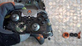 getlinkyoutube.com-What's inside an Xbox One Elite Controller?