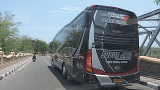 getlinkyoutube.com-Hino Bus RN285 New Super Jetbus HD 2 By Subur Jaya
