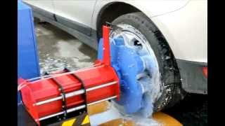 CAR WHEEL WASHING MACHINE / Cleaning Your Wheels