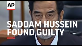 getlinkyoutube.com-Saddam Hussein found guilty and sentenced to death by hanging - 2006