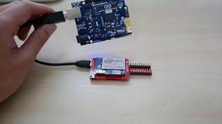 getlinkyoutube.com-Intel Edison + Arduino 101 IoT demo