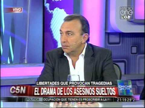 C5N - CHICHE EN VIVO: EL DRAMA DE LOS ASESINOS SUELTOS